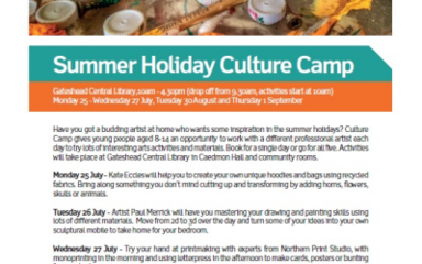 Summer Holiday Culture Club