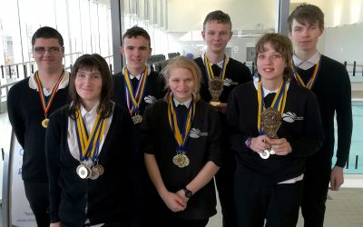 Hill Top Swimmers Win Medals Galore