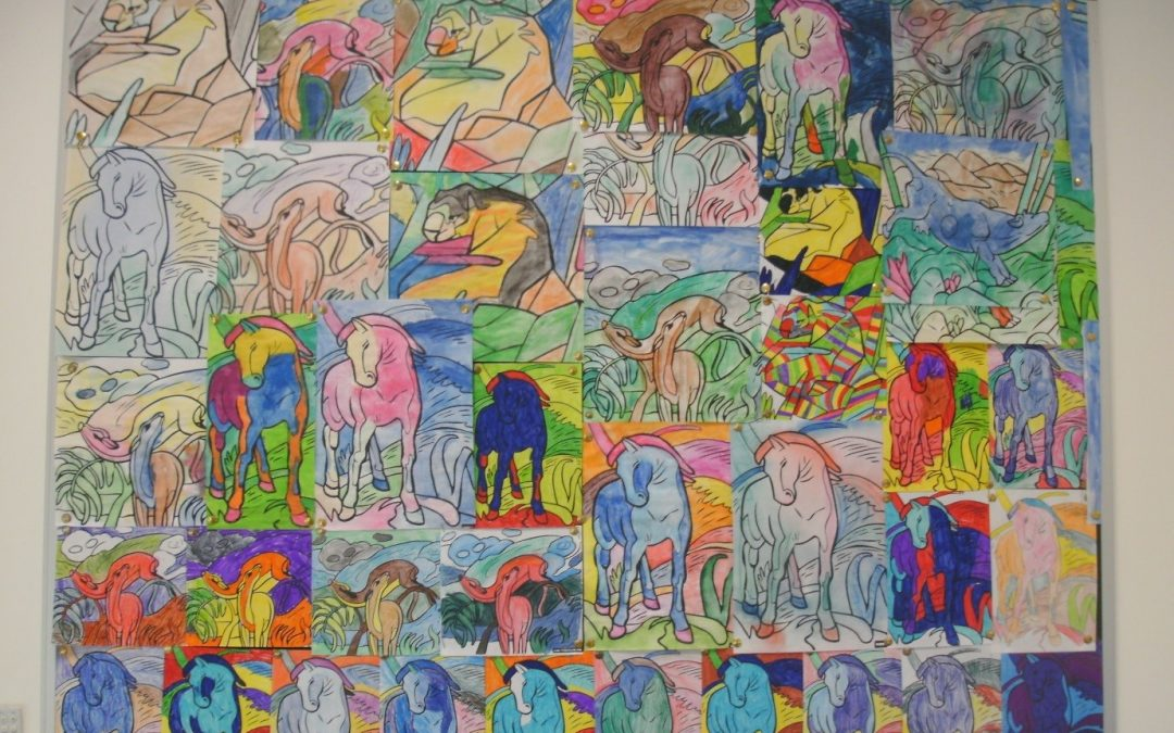 Year 8/9 Art Project – Colour and Light